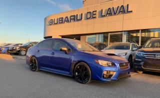 Used 2016 Subaru Impreza WRX Sport tech for sale in Laval, QC