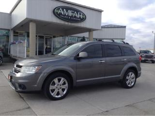 Used 2013 Dodge Journey R/T / AWD / LEATHER for sale in Tilbury, ON