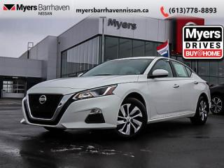 Used 2019 Nissan Altima S  - Heated Seats -  Remote Start - $169 B/W for sale in Nepean, ON