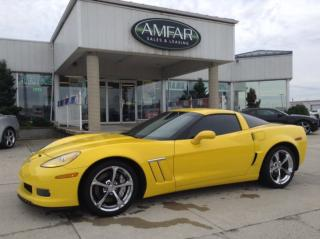 Used 2011 Chevrolet Corvette Grand Sport w/1SA / EXTRA LOW KMS for sale in Tilbury, ON
