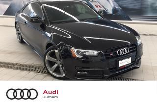 Used 2016 Audi S5 3.0T Technik + Black Optics   Nav   Rear Cam for sale in Whitby, ON