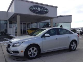 Used 2016 Chevrolet Cruze LT / LEATHER / NO PAYMENTS FOR 6 MONTHS !! for sale in Tilbury, ON