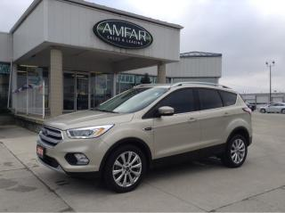 Used 2017 Ford Escape Titanium / NO PAYMENTS FOR 6 MONTHS !! for sale in Tilbury, ON