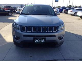 Used 2018 Jeep Compass NORTH / 4X4 / NO PAYMENTS FOR 6 MONTHS for sale in Tilbury, ON