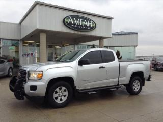 Used 2015 GMC Canyon EXT CAB / STICK SHIFT / NO PAYMENTS FOR 6 MONTHS ! for sale in Tilbury, ON