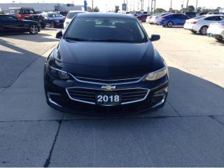 Used 2018 Chevrolet Malibu LT / REAR CAMERA / NO PAYMENTS FOR 6 MONTHS for sale in Tilbury, ON