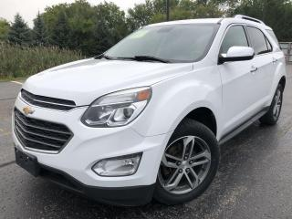 Used 2017 Chevrolet Equinox Premier AWD for sale in Cayuga, ON