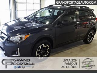 Used 2017 Subaru XV Crosstrek Sport Manuelle AWD **Toit ouvrant** for sale in Rivière-Du-Loup, QC