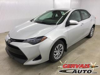 Used 2018 Toyota Corolla LE CAMÉRA DE RECUL BLUETOOTH SIÈGES CHAUFFANTS *Toyota Safety Sense* for sale in Trois-Rivières, QC
