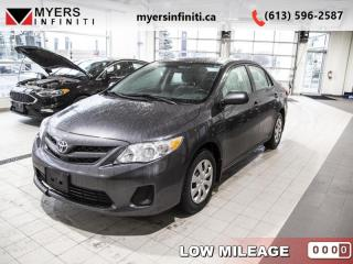 Used 2013 Toyota Corolla LE  - Sunroof -  Bluetooth for sale in Ottawa, ON