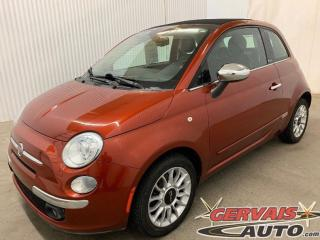 Used 2012 Fiat 500 C Convertible Lounge Cuir A/C MAGS for sale in Shawinigan, QC