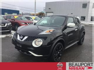Used 2017 Nissan Juke SV AWD ***BLACK PEARL EDITION*** for sale in Beauport, QC