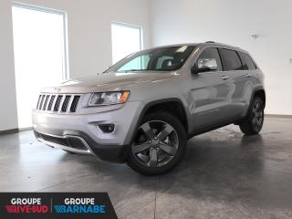 Used 2014 Jeep Grand Cherokee 4X4 LIMITED CUIR+CAMERA/GPS+++ for sale in St-Jean-Sur-Richelieu, QC