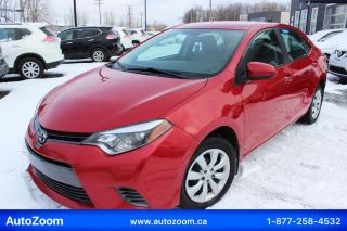 Used 2016 Toyota Corolla 4dr Sdn CVT LE for sale in Laval, QC