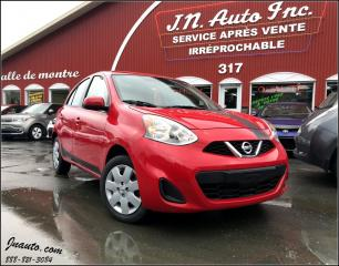 Used 2017 Nissan Micra SV for sale in Richmond, QC