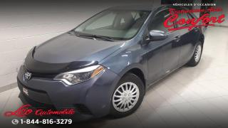Used 2015 Toyota Corolla Berline 4 portes, boîte automatique, CE for sale in Chicoutimi, QC