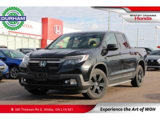 Used 2018 Honda Ridgeline Black Edition AWD for sale in Whitby, ON