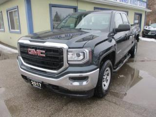 Used 2017 GMC Sierra 1500 GREAT KM'S SL EDITION 6 PASSENGER 5.3L - VORTEC.. 4X4.. QUAD-CAB.. 6.6
