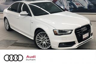 Used 2016 Audi A4 2.0T Komfort Plus + Sport Pkg | Keyless | Clean for sale in Whitby, ON