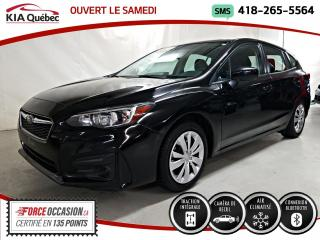 Used 2017 Subaru Impreza CONVENIENCE* AWD* A/C* CAMERA* for sale in Québec, QC