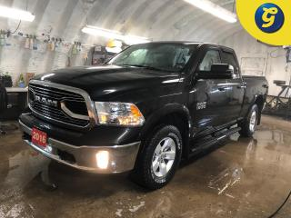 Used 2016 RAM 1500 Outdoorsman * Quad cab *  V6 PENTASTAR * 4X4 * Remote start * Tublar Step Bars * Bed liner * Tonneau cover * Power, heated, manual folding exterior mi for sale in Cambridge, ON