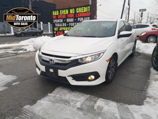 Used 2016 Honda Civic EX | No Accidents | One Owner | Power Sunroof | Apple CarPlay Android Auto for sale in North York, ON