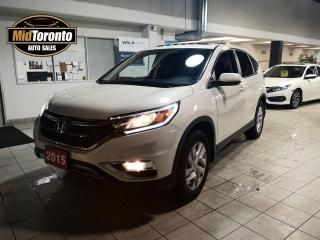Used 2015 Honda CR-V EX-L 4WD with Navigation | Leather | Power Sunroof | No Accidents for sale in North York, ON