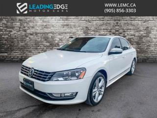 Used 2014 Volkswagen Passat 2.0 TDI Comfortline Leather, Sunroof, Heated Seats for sale in Woodbridge, ON