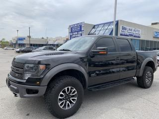 Used 2013 Ford F-150 SVT Raptor NAVI|CAMERA|SUNROOF|ALLOYS for sale in Concord, ON