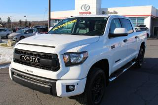Used 2016 Toyota Tundra CREW MAX TRD PRO MAGS CUIR TOIT SIEGES CHAUFF for sale in St-Basile-le-Grand, QC