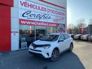 Used 2017 Toyota RAV4 LE**AWD (4X4)**CAMÉRA DE RECUL**BANCS CHAUFFANTS COMME NEUF for sale in Montreal, QC