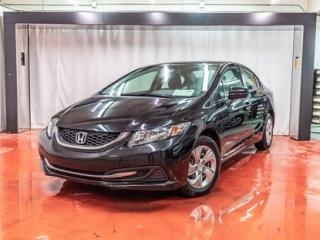 Used 2015 Honda Civic LX**A/C**PRISE AUX**CAMÉRA DE RECUL** 90 JOURS SANS PAIEMENTS (DÉTAILS EN CONCESSION) for sale in Montreal, QC