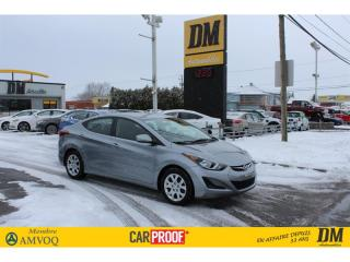 Used 2016 Hyundai Elantra GL **7 700 KM**   SIÈGES CHAUFFANTS    BLUETOOTH for sale in Salaberry-de-Valleyfield, QC