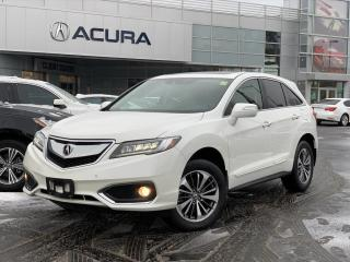 Used 2017 Acura RDX Elite ELITE | 1OWNER | NOACCIDENTS | BOUGHTHERE | AWD | for sale in Burlington, ON