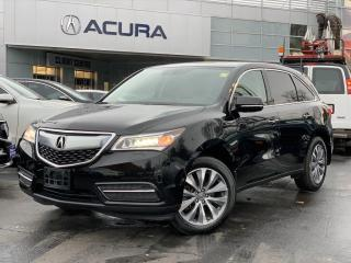 Used 2016 Acura MDX Navigation Package NAVI | 1OWNER | NEWTIRES | NOACCIDENTS | AWD | for sale in Burlington, ON