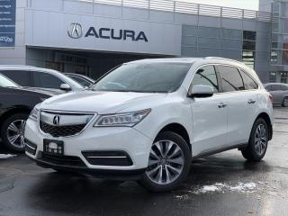 Used 2016 Acura MDX Navigation Package NAVI | NOACCIDENTS | BOUGHTHERE | REMOTESTART | for sale in Burlington, ON