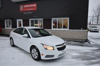 Used 2013 Chevrolet Cruze LT Turbo for sale in Salaberry-de-Valleyfield, QC