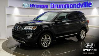 Used 2017 Ford Explorer LIMITED 4WD + GARANTIE + NAV + TOIT !! for sale in Drummondville, QC