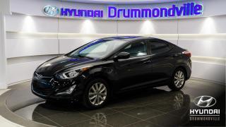 Used 2016 Hyundai Elantra SPORT + GARANTIE + TOIT + CAMERA + MAGS for sale in Drummondville, QC
