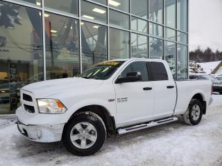 Used 2016 RAM 1500 OUTDOORSMAN , QUAD , 6'4'' , HEMI , 78$/ for sale in Ste-Agathe-des-Monts, QC