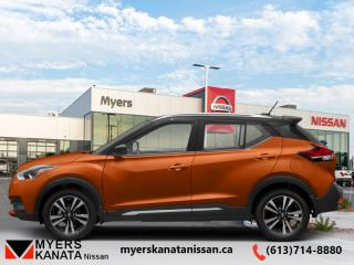 New 2019 Nissan Kicks SR FWD  -  Heated Seats -  Fog Lights - $176 B/W for sale in Kanata, ON