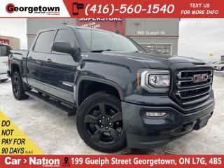 Used 2017 GMC Sierra 1500 SLE 4x4 | KODIAK | ELEVATION | CREW | V8 | B/U CAM for sale in Georgetown, ON