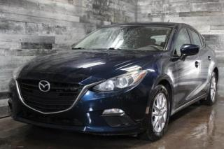 Used 2014 Mazda MAZDA3 MANUELLE 6 VITESSES, CAMÉRA DE RECUL, BLUETOOTH, M for sale in St-Sulpice, QC