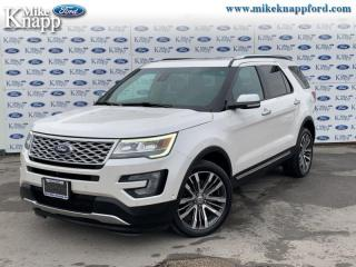 Used 2017 Ford Explorer Platinum  - Sunroof -  SYNC for sale in Welland, ON