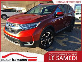 Used 2017 Honda CR-V Touring WOW , IMPECCABLE , PRIX COMPETITIF for sale in Île-Perrot, QC