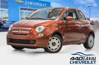 Used 2012 Fiat 500 POP automatique bas kilométrage for sale in Laval, QC