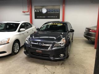 Used 2013 Subaru Legacy TOURING, AUTOMATIQUE, TOIT OUVRANT, A/C, for sale in Montréal, QC