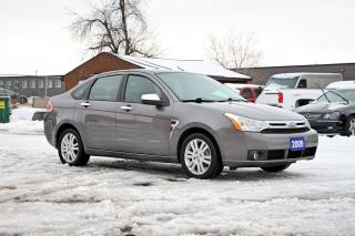 Used 2009 Ford Focus SEL+HEATED SEATS for sale in Brampton, ON