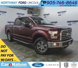 Used 2017 Ford F-150 XLT | 2.7L ECOBOOST | NAV | HTD SEATS | LINE-X | for sale in Brantford, ON
