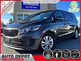 Used 2016 Kia Sedona LX + 8 PASSAGERS, CRUISE, BLUETOOTH for sale in Salaberry-de-Valleyfield, QC